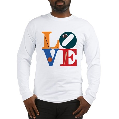 Love Philly Sports Long Sleeve T-Shirt