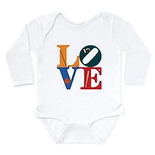 Love Philly Sports Long Sleeve Infant Bodysuit
