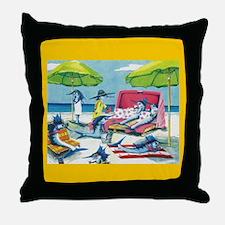 Sailfish Cay Throw Pillow