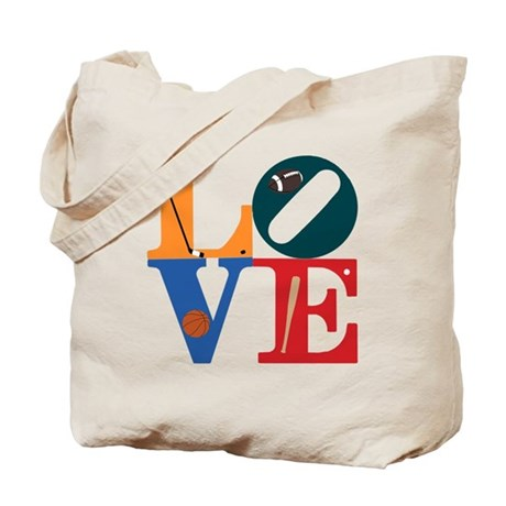Love Philly Sports Tote Bag