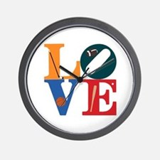 Love Philly Sports Wall Clock