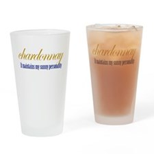 Chardonnay Drinking Glass