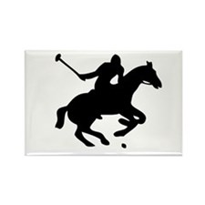 POLO HORSE Rectangle Magnet (10 pack)