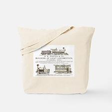 H K Porter & Company 1890 Tote Bag