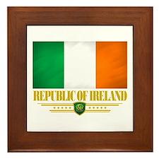 Flag of Ireland Framed Tile