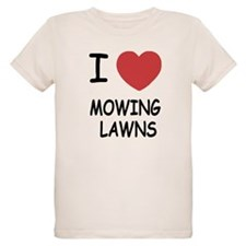 I heart mowing lawns T-Shirt