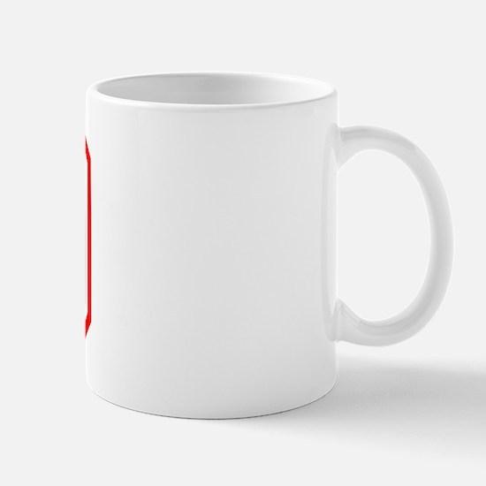 Varsity Uniform Number 49 (Red) Mug