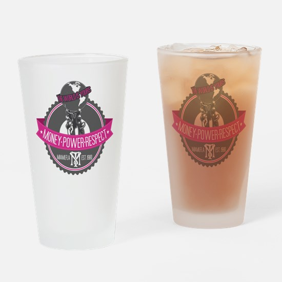 The World Is Yours Drinking Glass