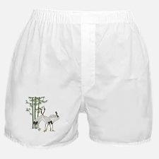 Crane & bamboo Boxer Shorts