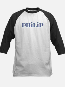 Philip Blue Glass Kids Baseball Jersey