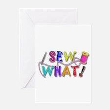 Sew What Greeting Card