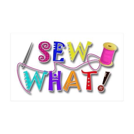 Sew What 38.5 x 24.5 Wall Peel