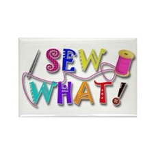 Sew What Rectangle Magnet (100 pack)