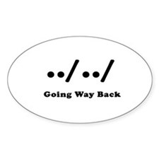 Going Way Back Decal