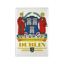 Dublin COA Rectangle Magnet