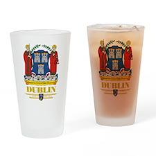 Dublin COA Drinking Glass