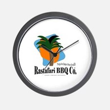 Rastafari BBQ Co. Wall Clock