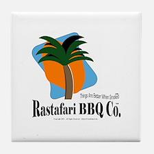 Rastafari BBQ Co. Tile Coaster