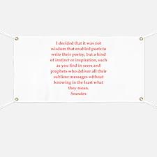 Wisdom of Socrates Banner