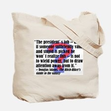 Cute 2012 presidential candidates Tote Bag