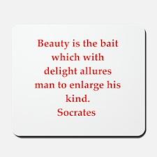 Wisdom of Socrates Mousepad