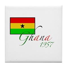 Ghana Tile Coaster