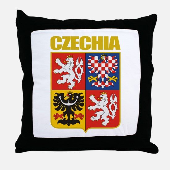 Czech COA Throw Pillow