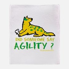 Did someone say Agility Throw Blanket