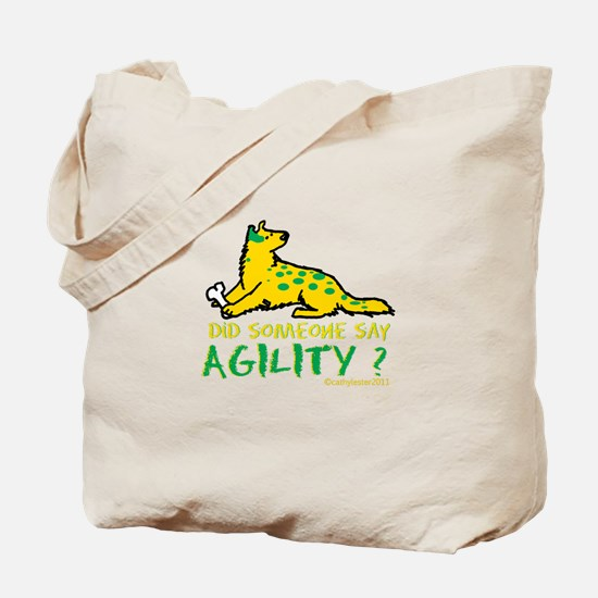 Did someone say Agility Tote Bag