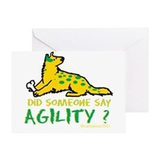 Did someone say Agility Greeting Card