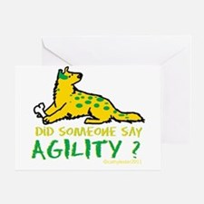 Did someone say Agility Greeting Card