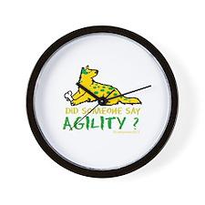 Did someone say Agility Wall Clock
