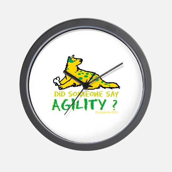 Did someone say Agility Wall Clock