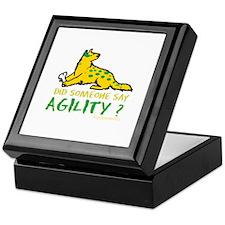 Did someone say Agility Keepsake Box