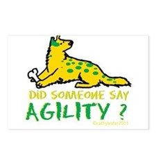 Did someone say Agility Postcards (Package of 8)