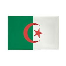 Unique Algeria flag Rectangle Magnet