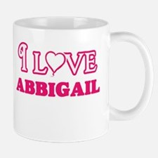 I Love Abbigail Mugs