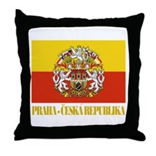 Praha (Prague) Flag Throw Pillow
