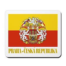 Praha (Prague) Flag Mousepad