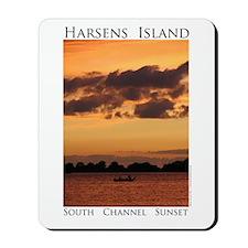 Harsens Island Sunset Mousepad