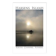 Harsens Island Sunrise Postcards (Package of 8)