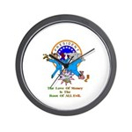 Root Of All Evil Gifts Wall Clock