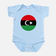 Free Libya Infant Bodysuit