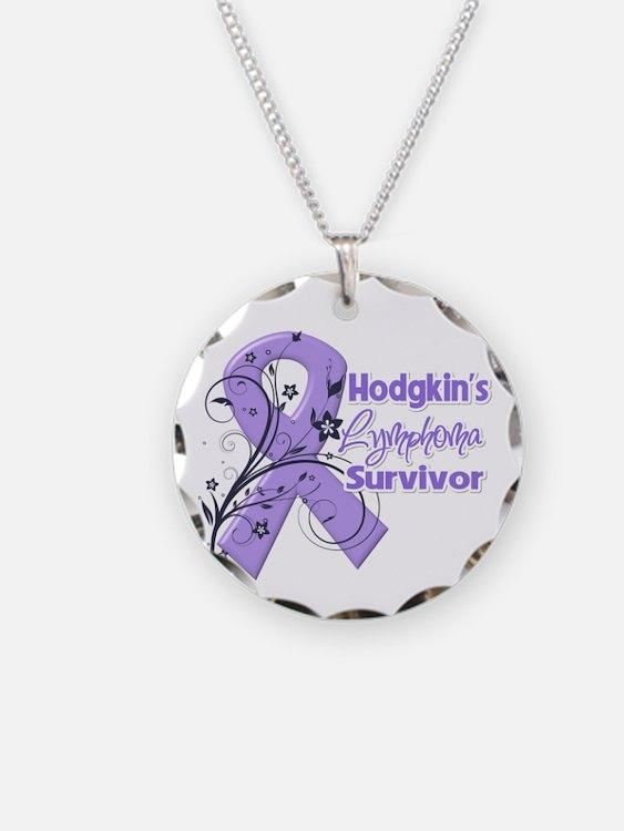 Hodgkin Lymphoma Survivor Necklace