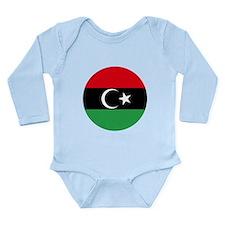 Free Libya Long Sleeve Infant Bodysuit