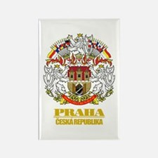 Praha (Prague) COA Rectangle Magnet