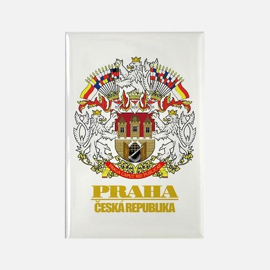 Praha (Prague) COA Rectangle Magnet