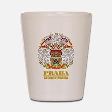 Praha (Prague) COA Shot Glass