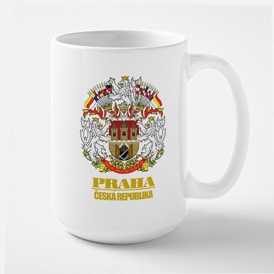 Praha (Prague) COA Large Mug