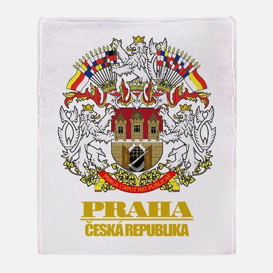 Praha (Prague) COA Throw Blanket